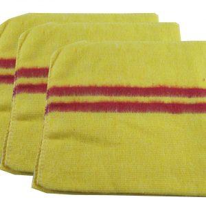 tissu jaune absorbant