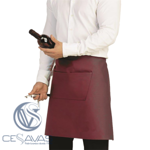 Half apron with front pocket MSB001