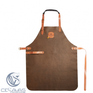 Bronze leather apron felix S