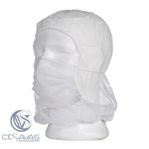 full-head hat with white mask (100uds)