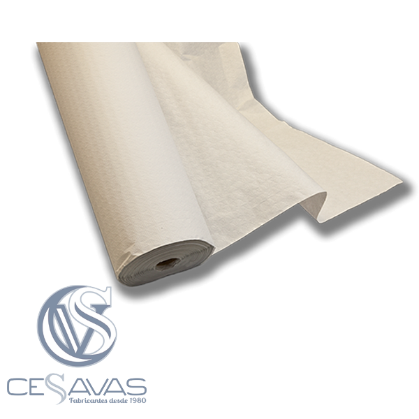 mantel blanco de papel MAR900