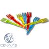 mini tenedores de colores TEN907