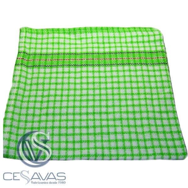 paño color verde benetton 70x55