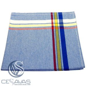cotton t.towel 2 c 3 stripes swan