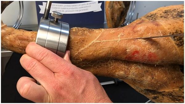 cómo empezar a cortar jamón
